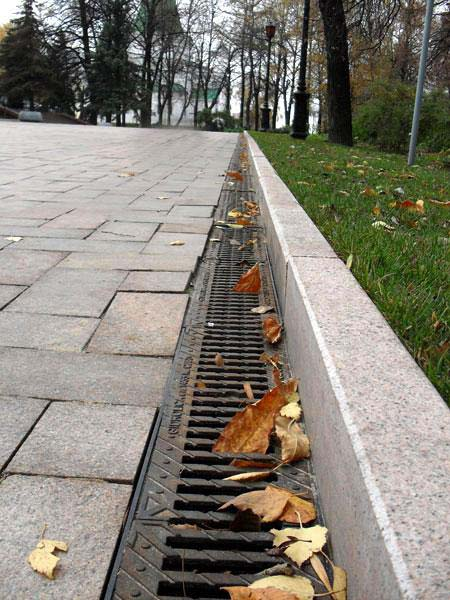 Защитная решетка ливневой канализации: 3 вида сплава